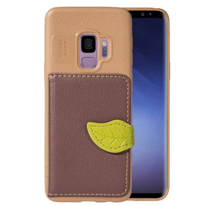 Luxury Retro PU Leather Wallet Card Slot Holder Phone Case For Samsung Galaxy Note 9/8 S9/S8 Plus