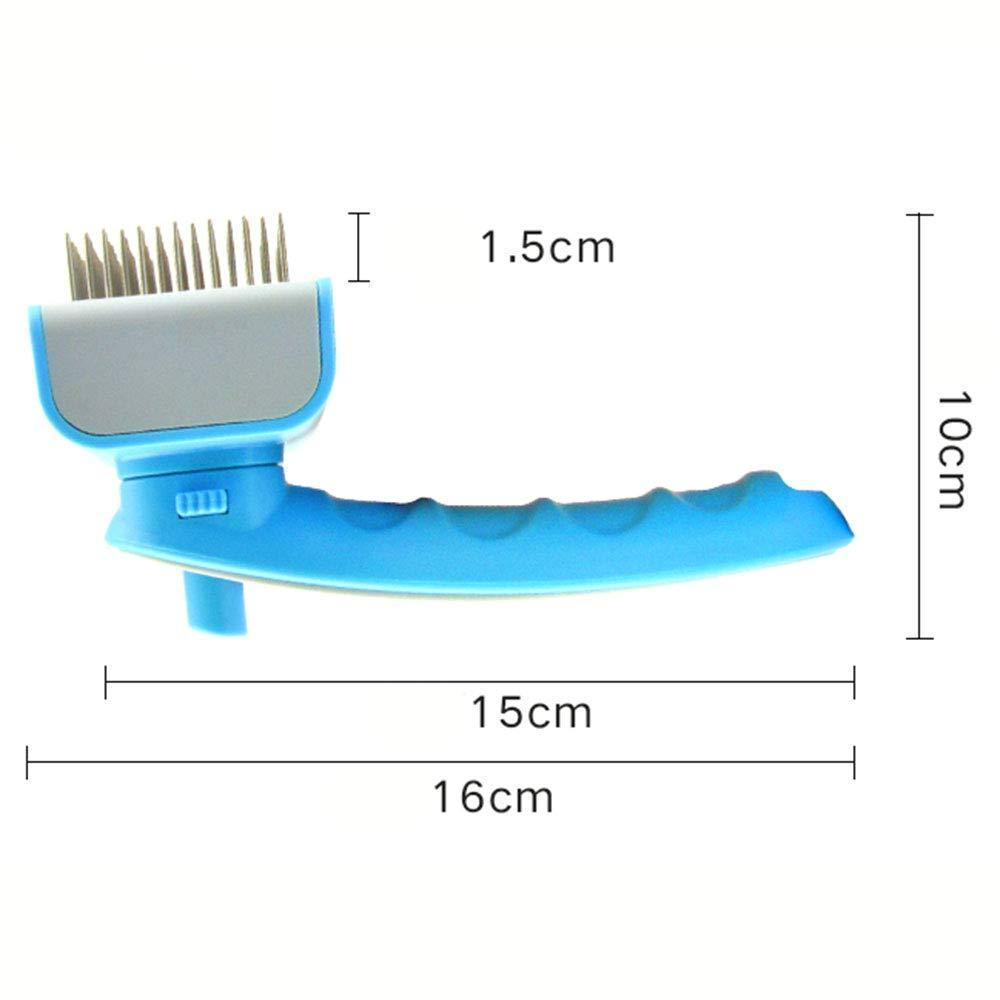 2019 Pet Grooming Brush for Grooming Small Medium & Large Cats and Dogs - Carrywon
