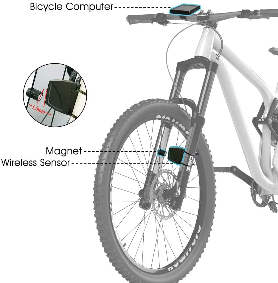 50% OFF TODAY! Wireless Bike Computer, 32 Functions