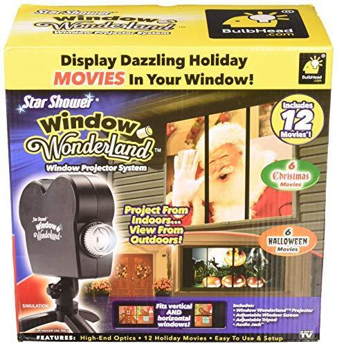Star Shower 11674 Window Display Christmas, Black (Renewed)