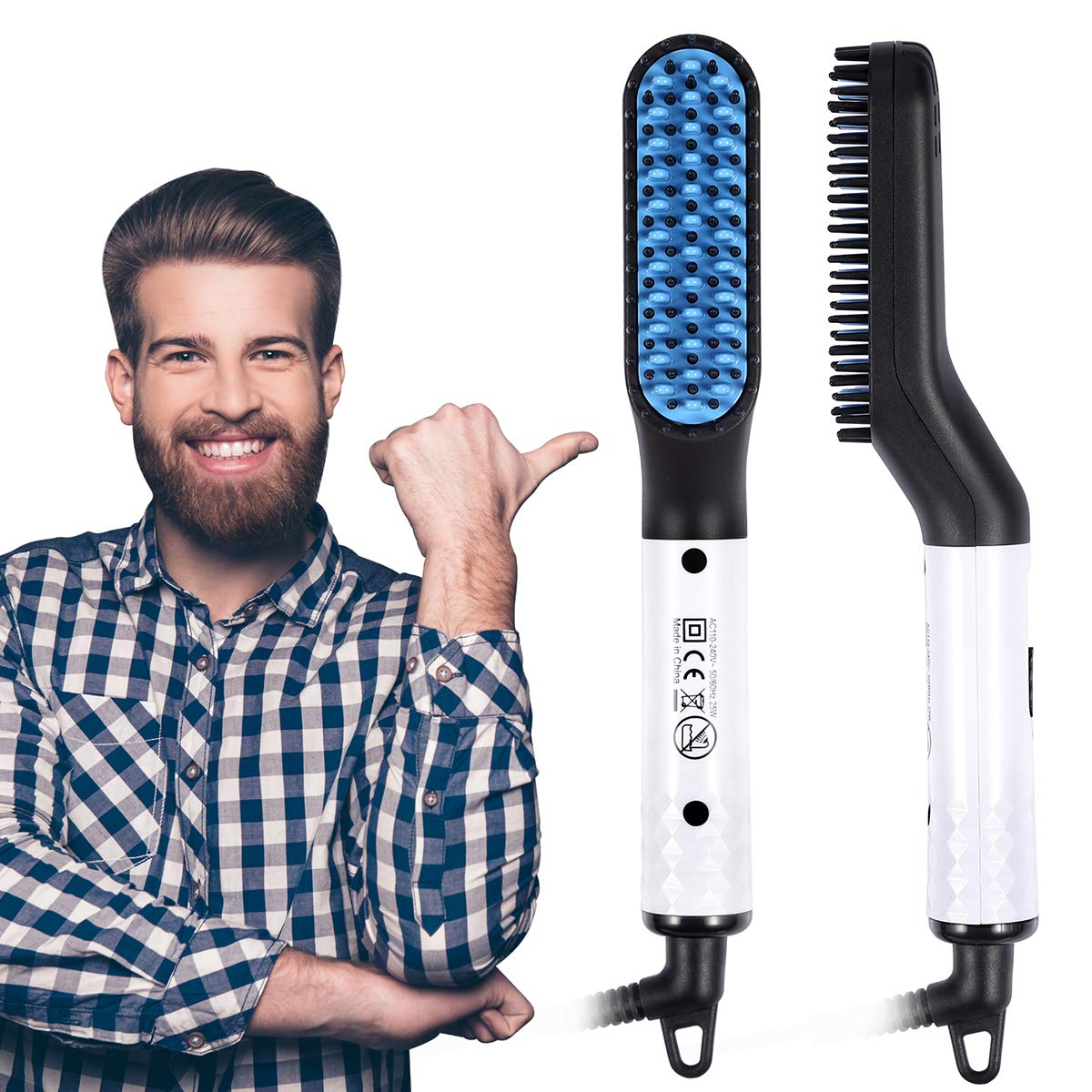 🔥Father's Day HOT SALE🔥PREMIUM HAIR AND BEARD STRAIGHTENING COMB (50% OFF TODAY)