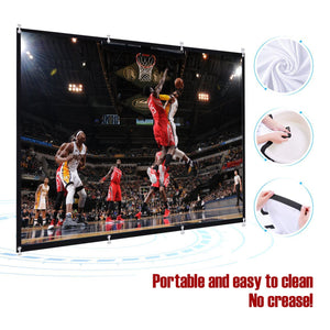 50% OFF TODAY! 100inch Outdoor Big Screen
