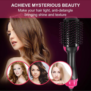 4 IN 1 ONE-STEP HAIR DRYER & VOLUMIZER-FREE SHIPPING!!