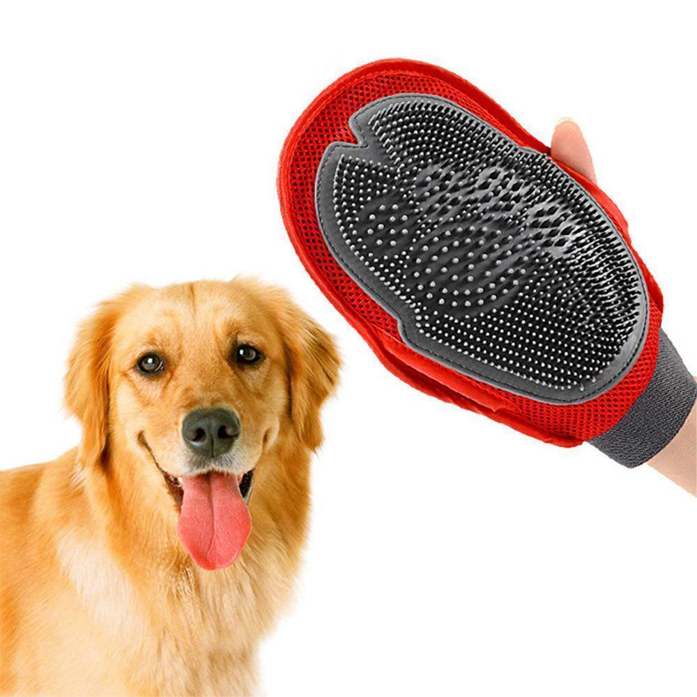 Fur Grooming Glove Comb Massage Brush - Carrywon