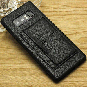 Wallet Credit Card Slot Case For Samsung Galaxy