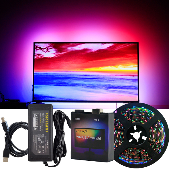 Colorful TV Backlighting