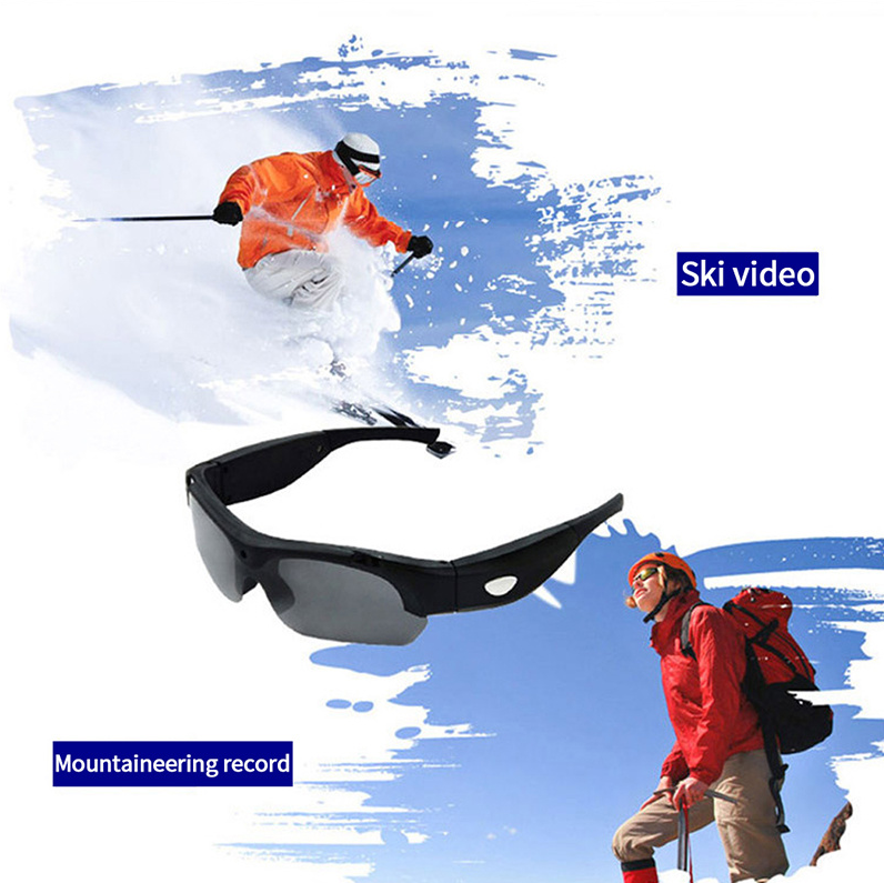 50%OFF TODAY! Amazing Spy Sunglasses Audio Microphone 1080p HD Camera