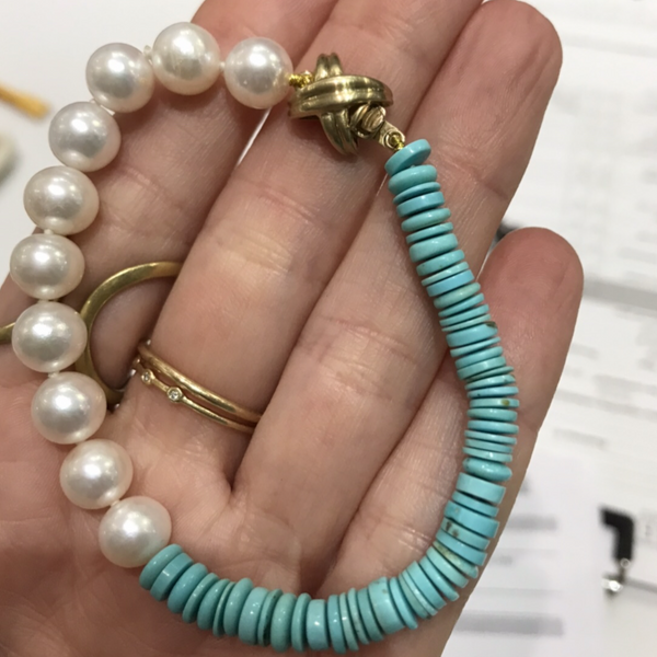 Upcycled pearls