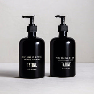 Pine orange bitters hand soap + lotion