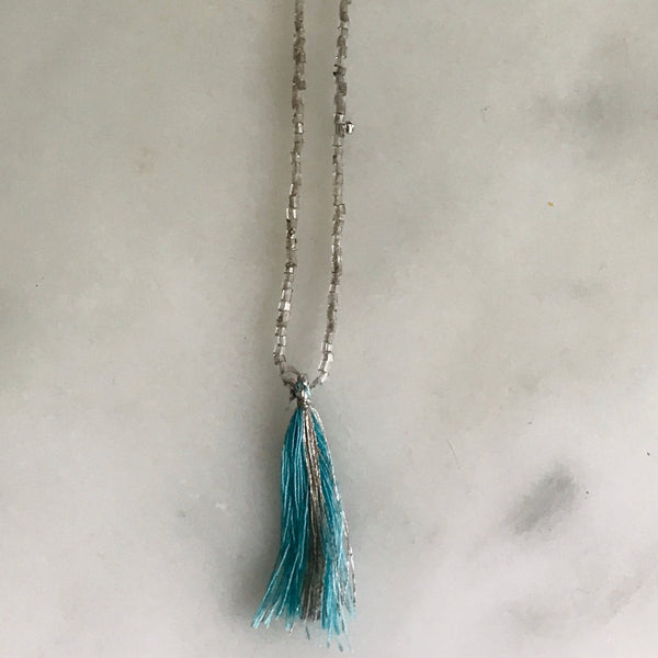 mini mala necklace