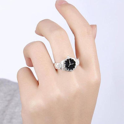 Mini Watch Engagement Ring