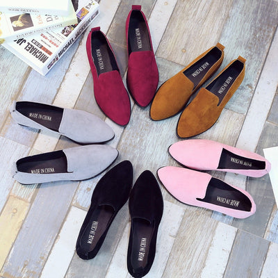 Women Loafers Flats Shoes