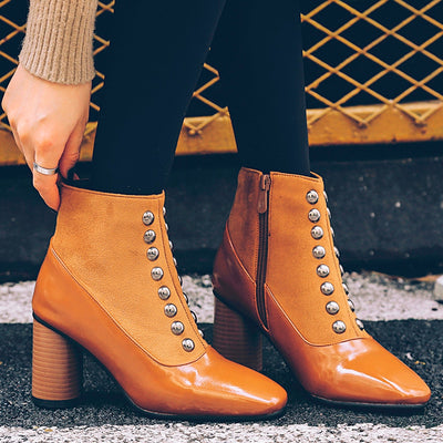 Women Thick heel Non-slip Casual Shoes