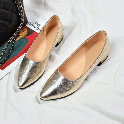 Women Slip-on Pumps Shoes