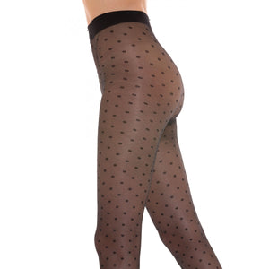 "Collant pois ""Diamond 30"" - Donna"
