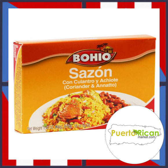 BOHIO Seasoning with Coriander and Annatto / Sazon con Culantro y Achiote BOHIO