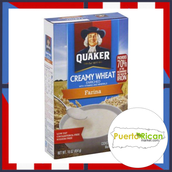 QUAKER Creamy Wheat / Farina QUAKER