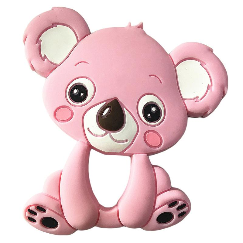 Baby Silicone Teethers Animal Toys