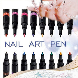 16 Colors Two-way Acrylic Paint Pen