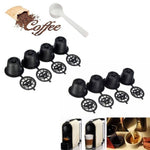 Reusable Nespresso Capsules Pods With Mesh Filter And Scoop Refillable Coffee Pod Filter For Coff