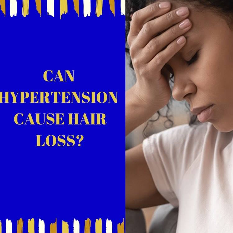 Can Hypertension Cause Hair loss?