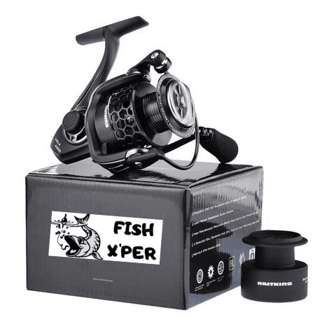 Moulinet + Boite pêche spinning | FishXper