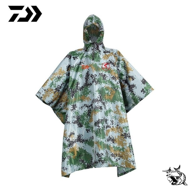 Cape imperméable Daiwa camouflage