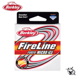 Fil de pêche Berkley FireLine Rouge 45m Fused Micro Ice | FishXper