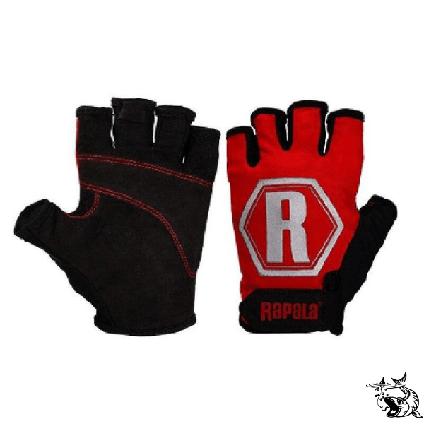Gants de pêche Rapala Performance Rouge | FishXper