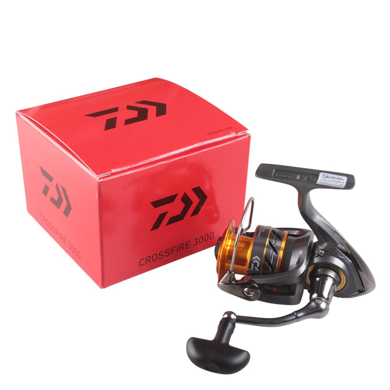 Moulinet Pêche Spinning Daiwa CrossFire 3000 | Fishxper.com