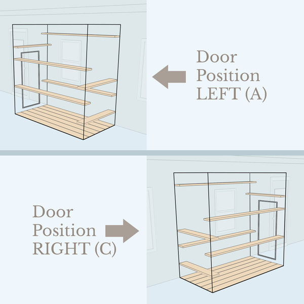 Catio Door Position