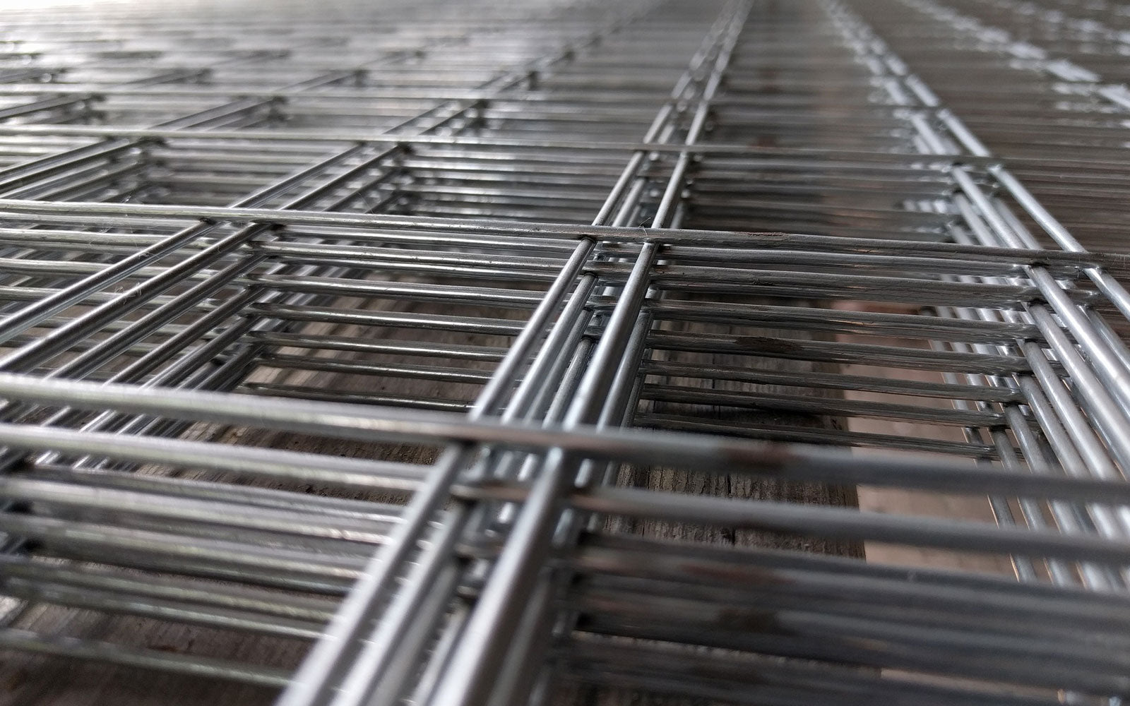 stack of steel wire mesh