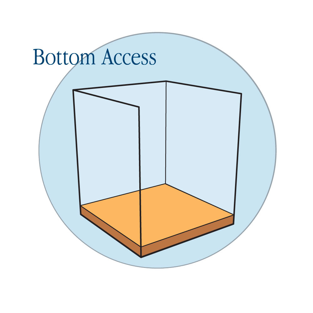 Top and Bottom Access - Habitat Haven