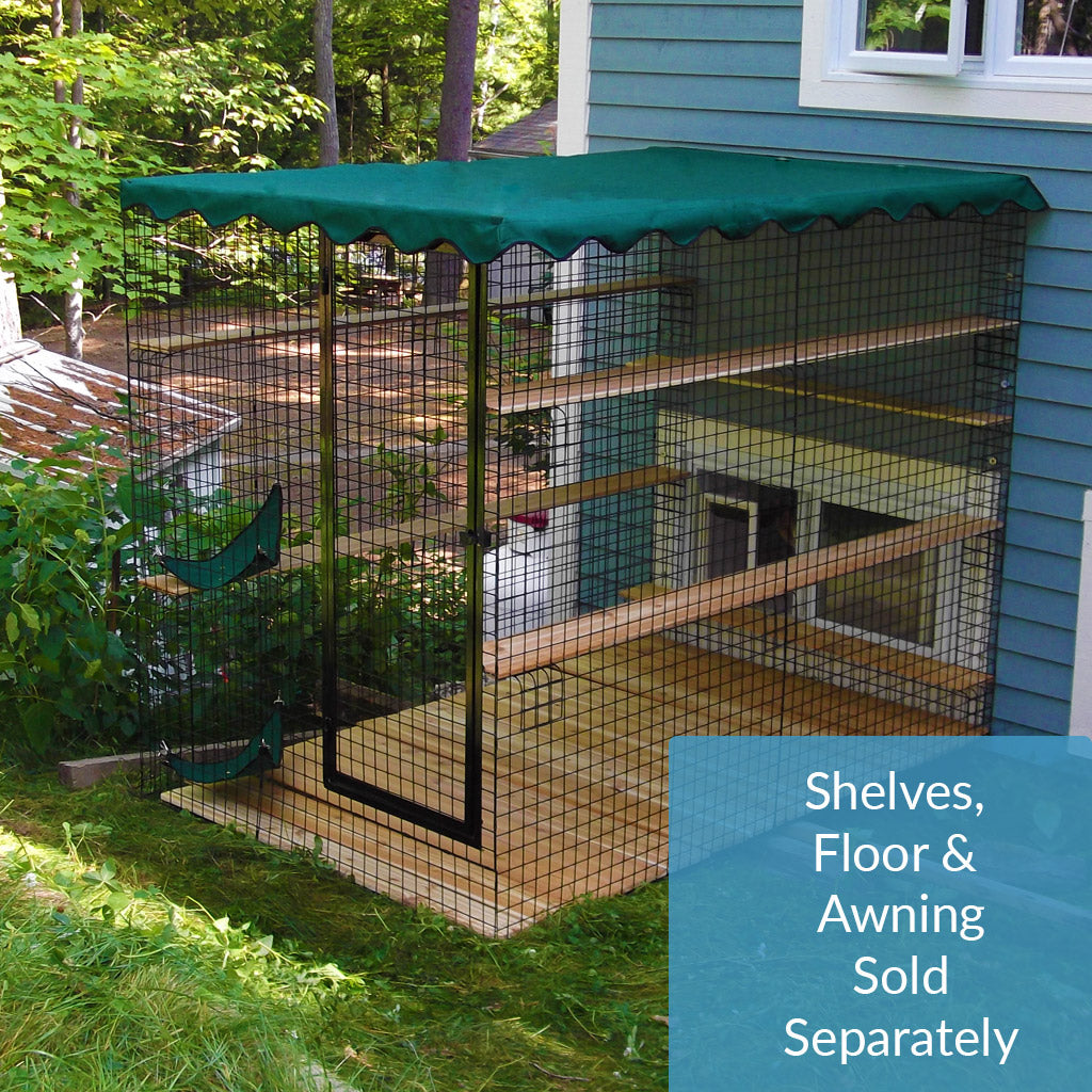 Three Sided Enclosure - With Wire Mesh Floor - Habitat Haven