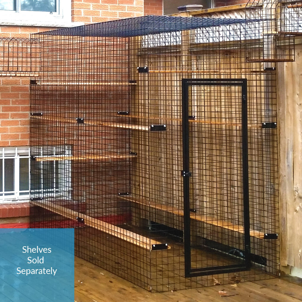 Four Sided Catio Enclosure - No Floor - Habitat Haven