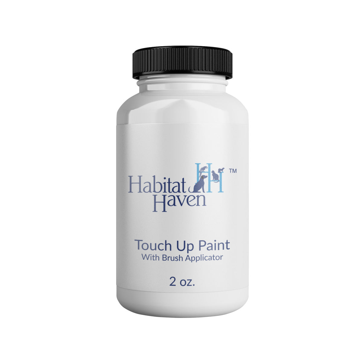 Habitat Haven Satin Jet Black Touch Up with Brush -  2oz