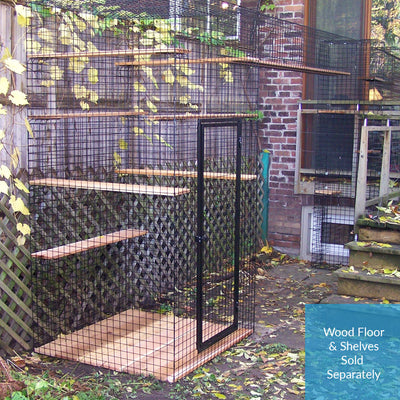 Four Sided Enclosure - With Wire Mesh Floor - Habitat Haven