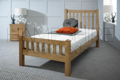 EMO Oak Bed Frame
