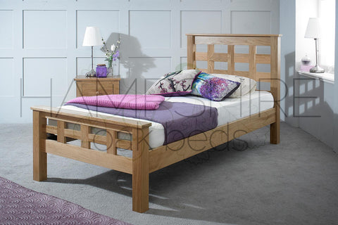 HRO Oak Bed Frame