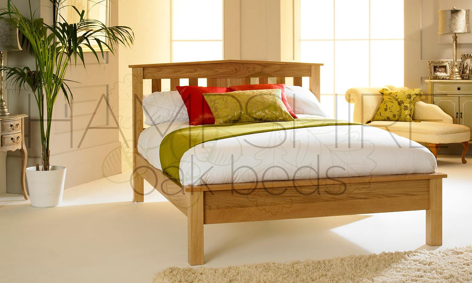 MRO Oak Bed Frame