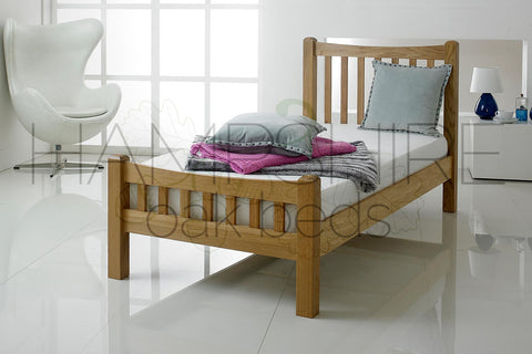 MNO Oak Bed Frame