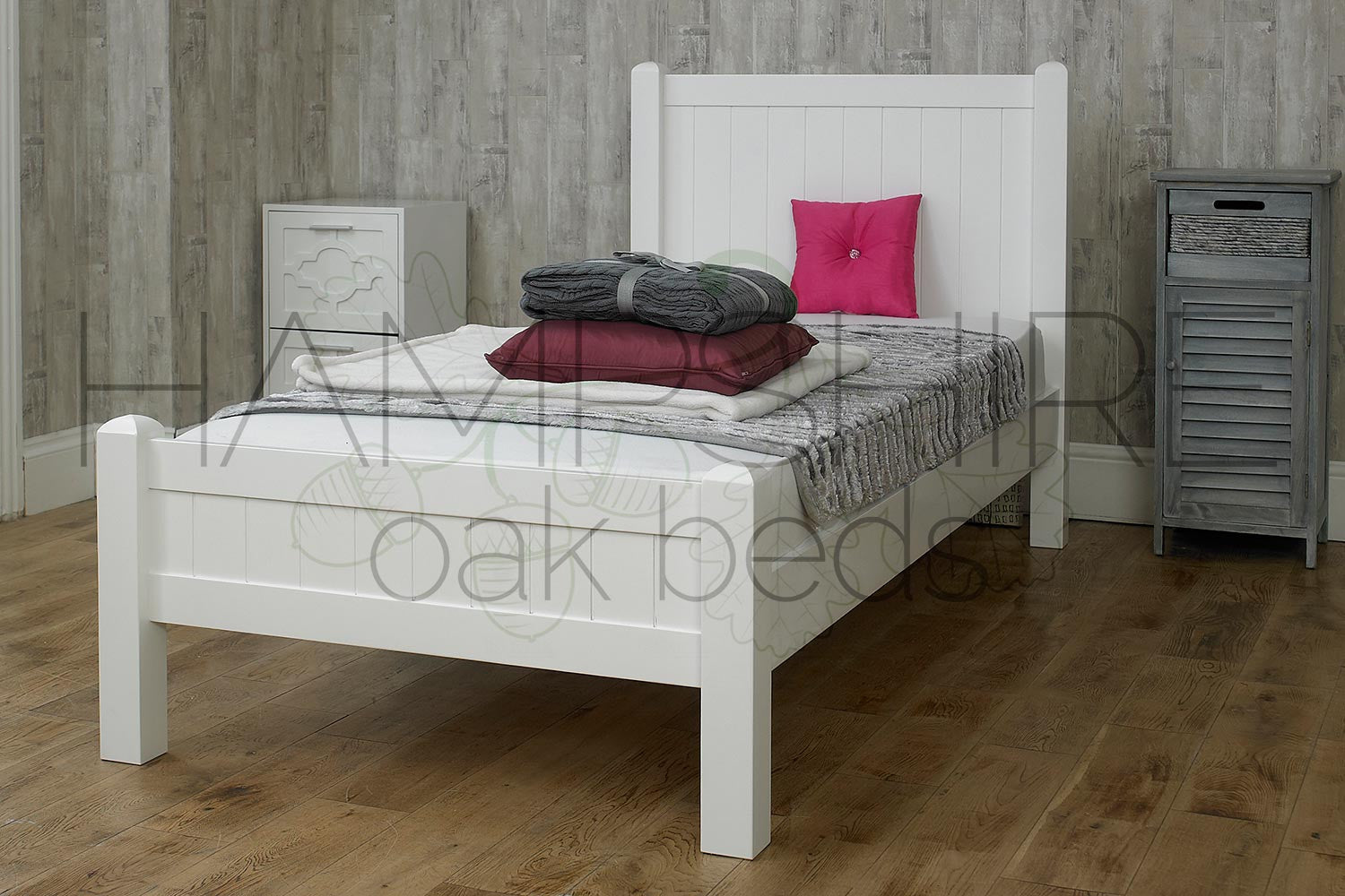 NNW Solid Wood Bed Frame