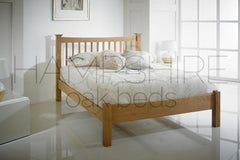 SLO Oak Bed Frame