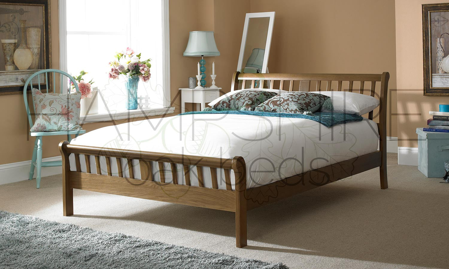 VGD Oak Bed Frame