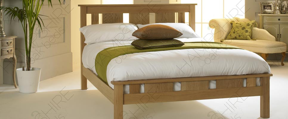 LYO Oak Bed Frame