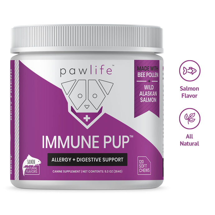 Immune Pup soft chews for dog allergies