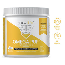 Load image into Gallery viewer, Omega Pup soft chews for dog skin and coat support