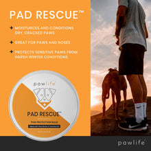 Load image into Gallery viewer, Diagram of benefits for Pad Rescue