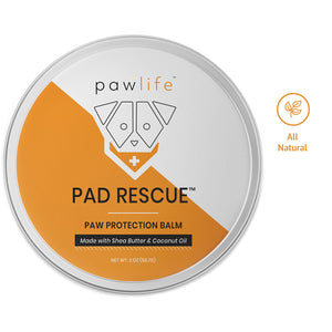 Pad Rescue balm for dog paw protection