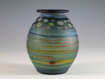 Load image into Gallery viewer, Teal Bud Vase 2067